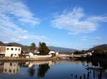 那賀川河口からの風景